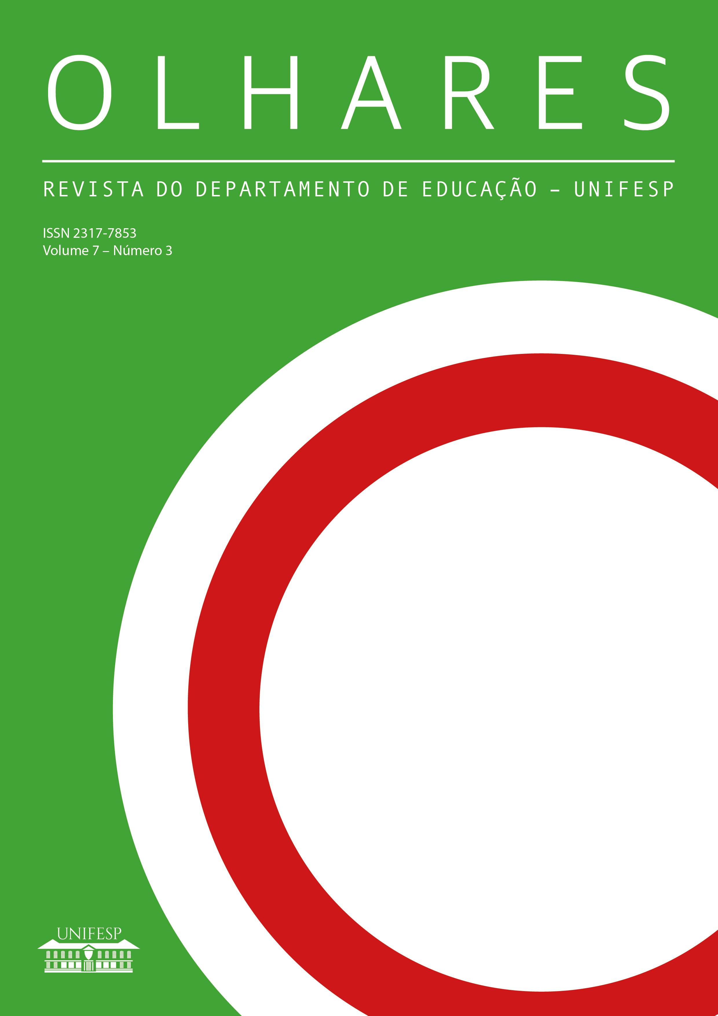 """Visualizar v. 7 n. 3 (2019): Número temático """"História da Educação:  intelectuais, instituições e práticas"""""""