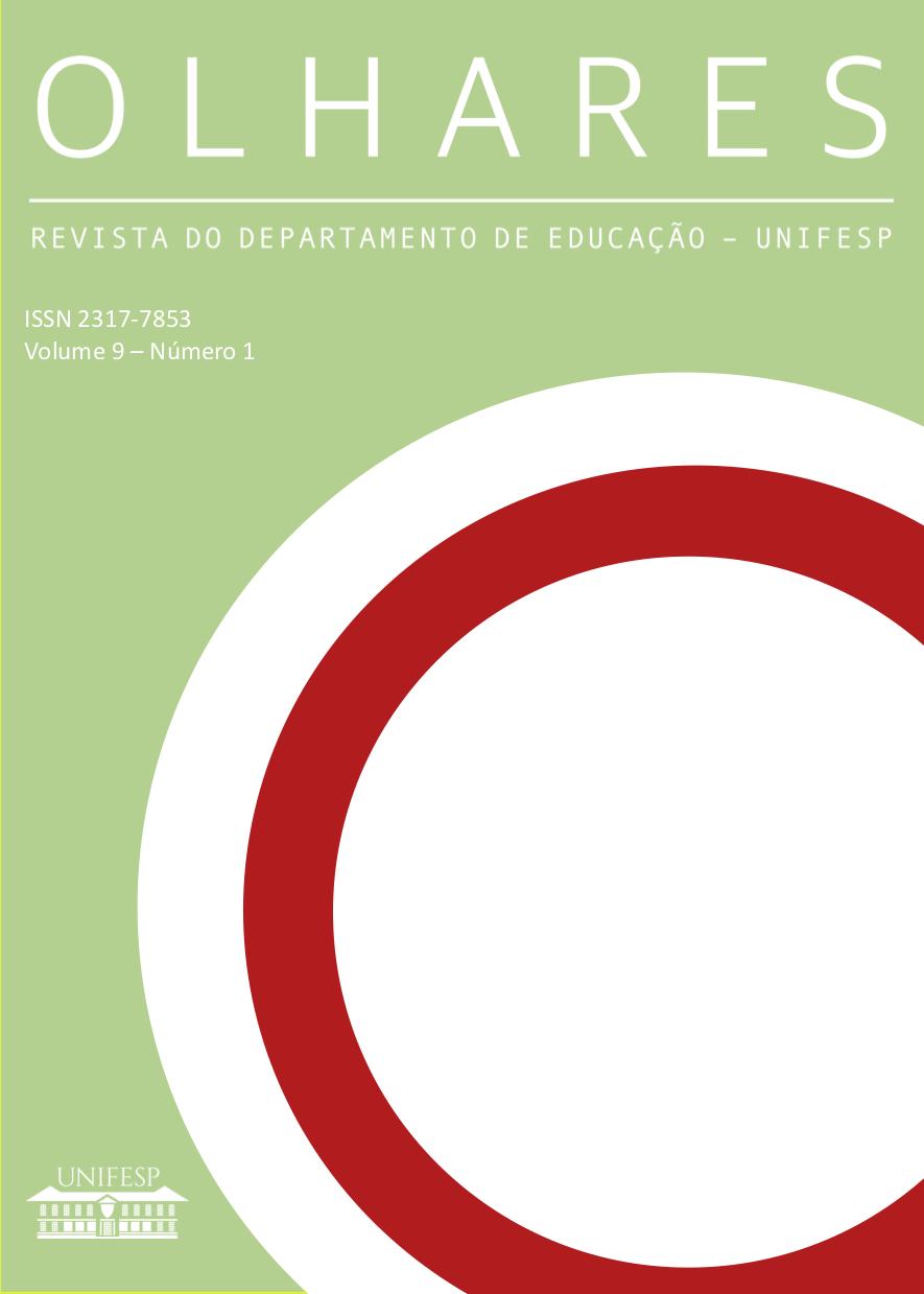 """Visualizar v. 9 n. 1 (2021): Número temático: """"Violência Escolar, Direitos Humanos e Responsabilidade"""""""
