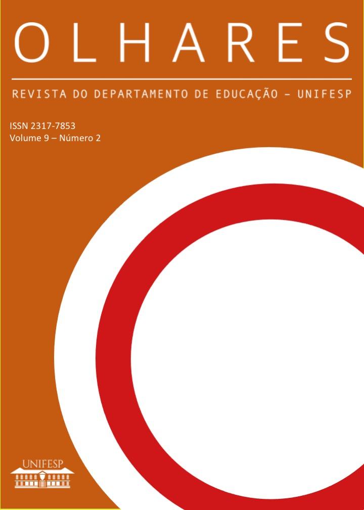 Visualizar v. 9 n. 2 (2021): Revista Olhares - REVISTA DO DEPARTAMENTO DE EDUCAÇÃO - UNIFESP