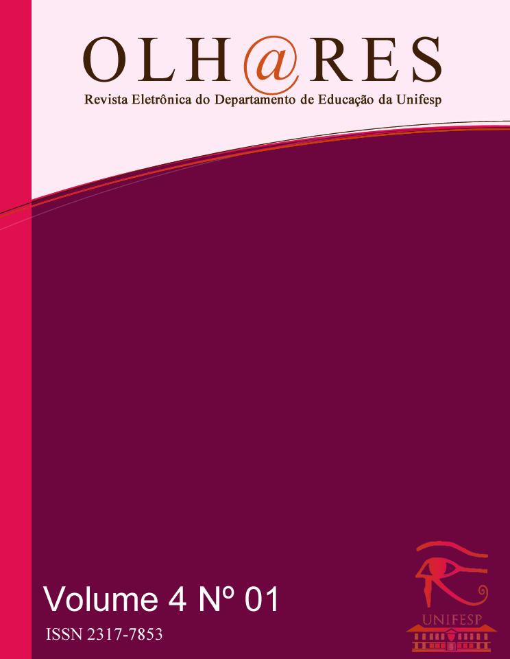 """Visualizar v. 4 n. 1 (2016): Dossiê Temático """"Jovens e Adultos na Educação: Contextos, Práticas e Políticas"""""""