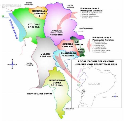Cantones de Manabí.