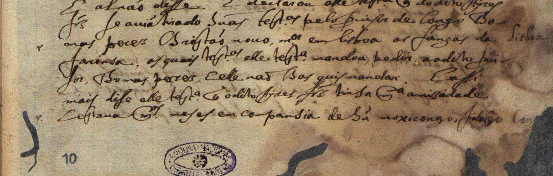 Arquivos Nacionais/ Torre do Tombo, Inquisição de Lisboa, livro 776.