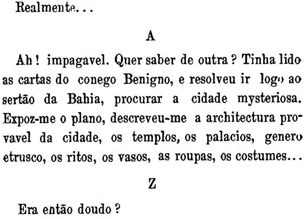 "MACHADO DE ASSIS, J. M. de, ""O anel de Polícrates"". In: Papéis avulsos. 1882"