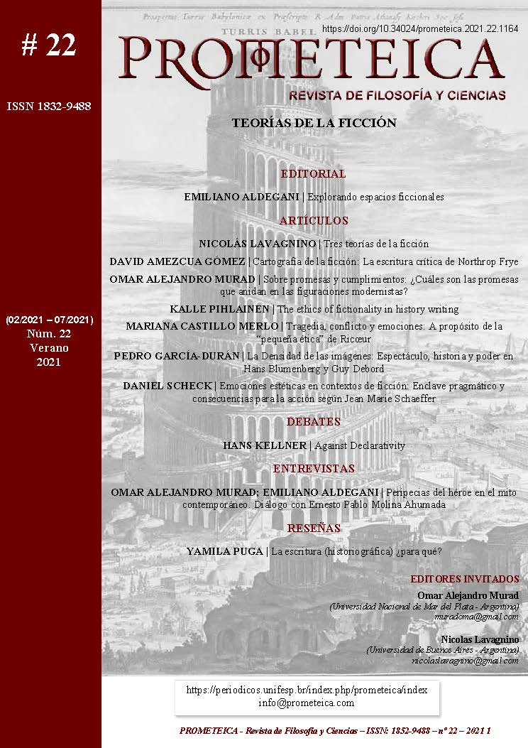 Ver Núm. 22 (2021): Prometeica - nº 22 (02/2021 - 07/2021)